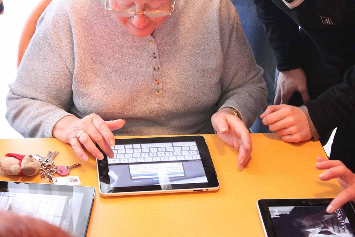 seniors et achat en ligne