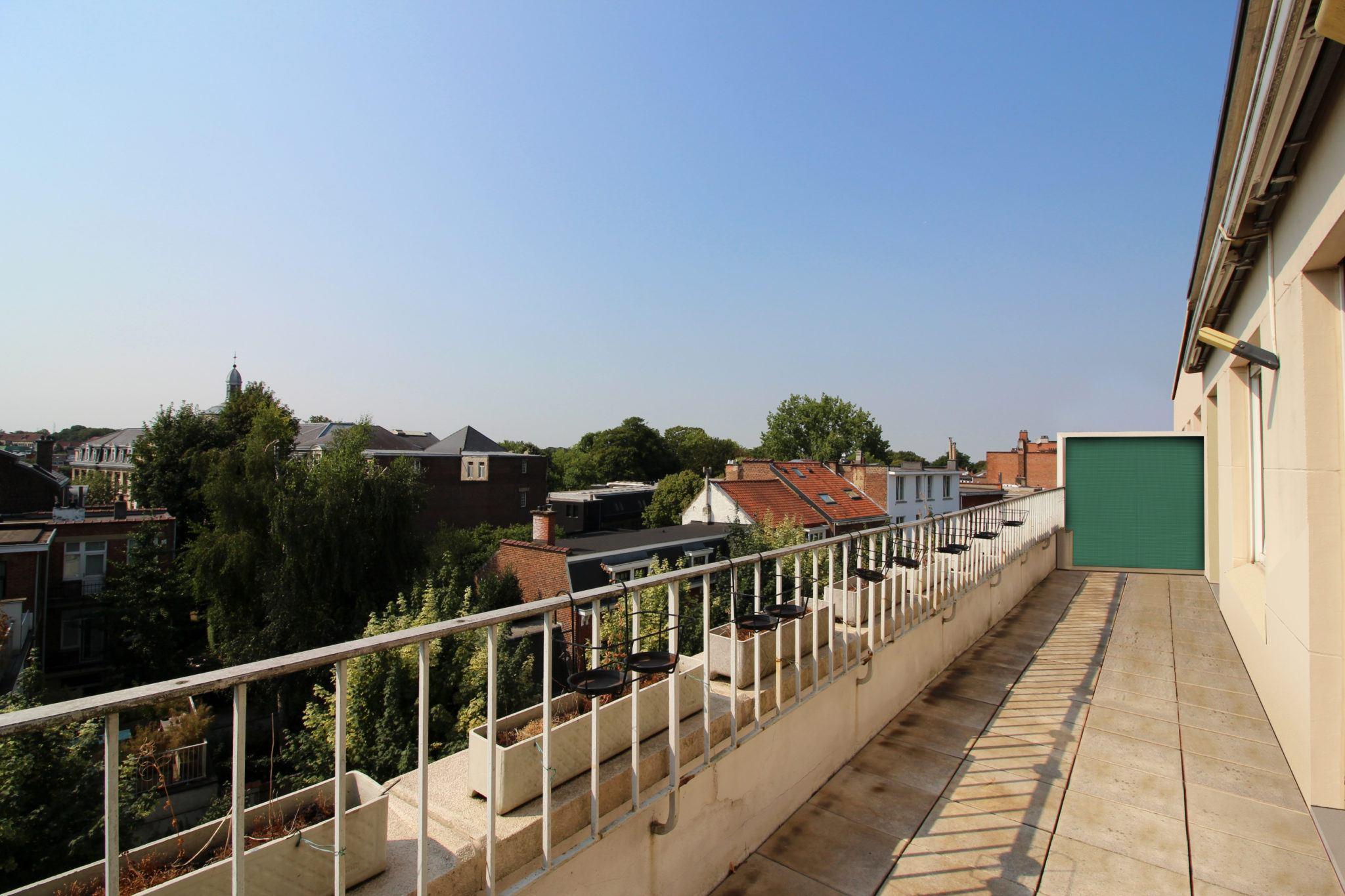 viager occupé Uccle penthouse