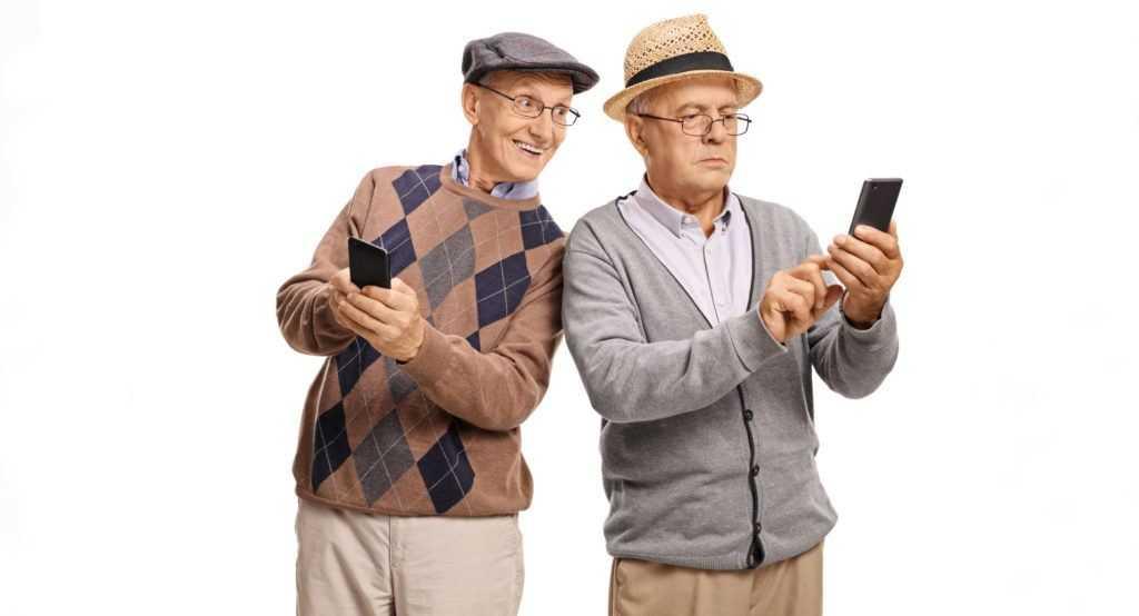 faut il acheter un smartphone pour senior. Black Bedroom Furniture Sets. Home Design Ideas