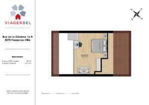 plan plan appartement duplex à acheter en viager